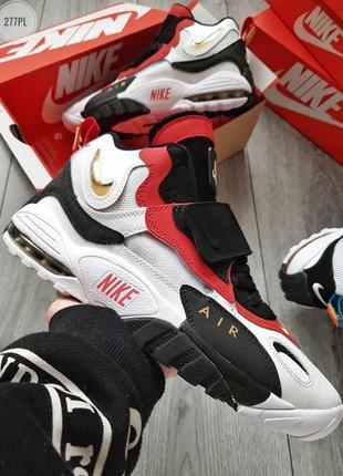 Nike speed turf university white red black, кросовки найк мужс...