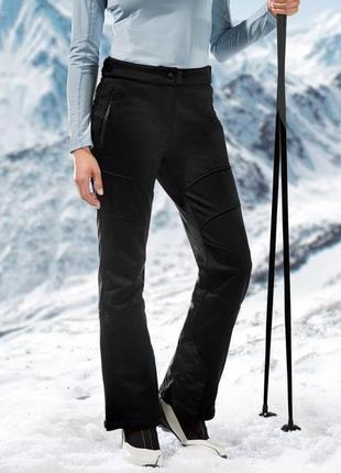 Лыжные термо штаны, зимние 36 euro softshell crivit, германия