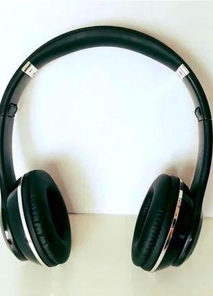 Накладные Беспроводные Блютуз Наушники Bluetooth Мп3 Fm