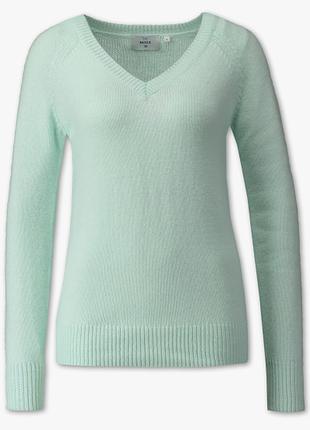 Мятный свитерок