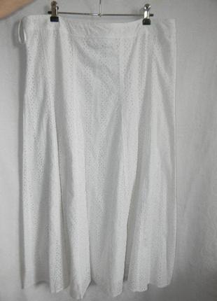 Белая кружевная юбка wallis
