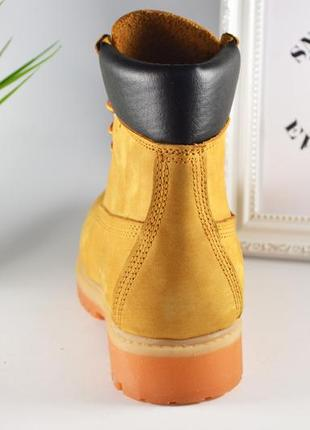 Ботинки деми (тимберленды)