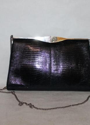 Элегантная кожаная сумка в минималистичном стиле 100% натураль...