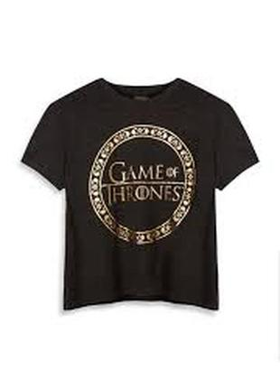 Модная футболка размер с и м game of thrones