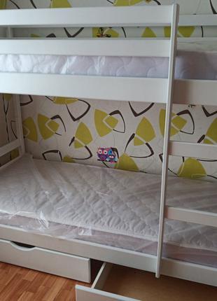 С ящиками двухъярусная кровать Скай.