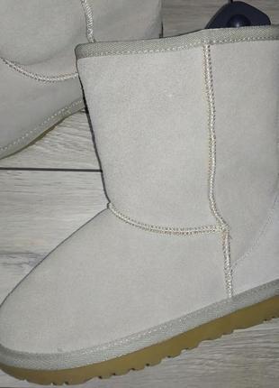 Натуральная замша детские угги сапоги сапожки валенки