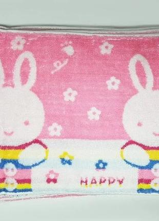"""Полотенце для рук и кухни """"счастливый зайчик"""""""