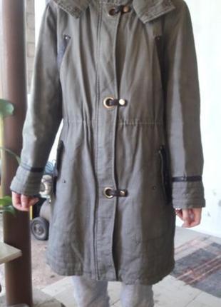 Пальто молодежное теплое
