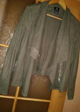 Куртка косуха под замш