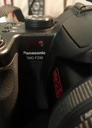 Цифровой фотоаппарат Panasonic LUMIX DMC-FZ50 Black.
