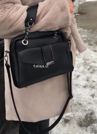 6 цветов сумочка черная кросс-боди сумка клатч среднего размера
