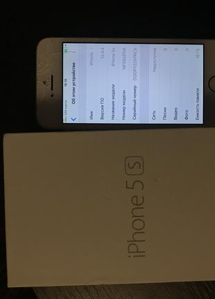 IPhone 5s на запчасти,либо под восстановление.