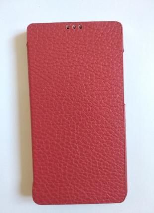 Новый чехол книжка Huawei Honor 3C Red