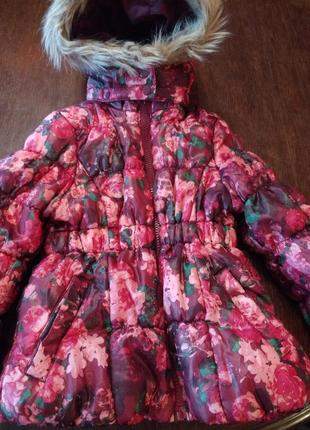 Куртка h&m 1,5 -2 г ( 86-92  см).