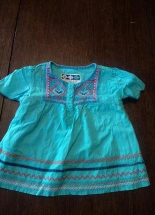 Платье , туника debenhams 12-18 мес( 86 см).