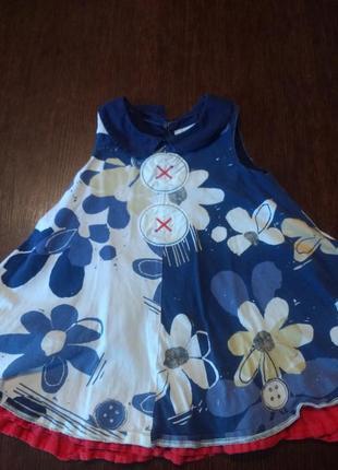 Платье next 1,5-2 г ( 92 см).