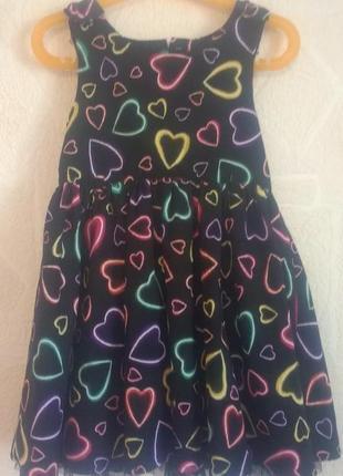 Платье george 4-5 л( 104-110 см).