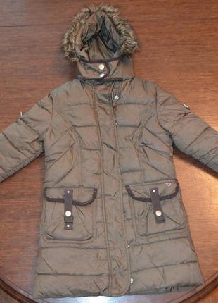 Пальто bijenkorf girl( 104-110cм) 4-5 лет.