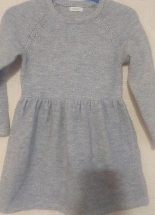 Платье next 1,5 -2 г ( 92 см).