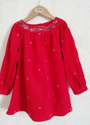 Платье m&s 3-4 г( 104 см).