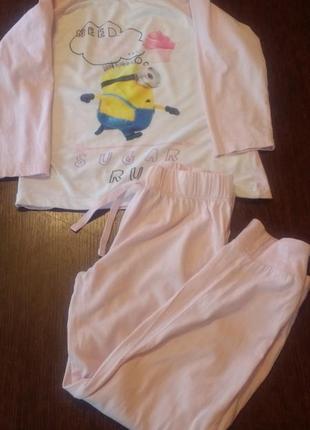 Пижама minion 6-7 л( 116-122 см).