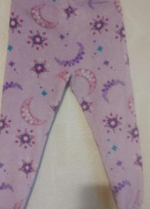 Штаны пижамные ( пижама) george  6-7 л( 122 см) флисовые.