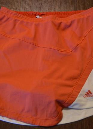 Юбка- шорты adidas climalite 34р( xs )