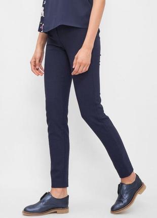 🌿 плотні сині штани , брючки , джинси від mango