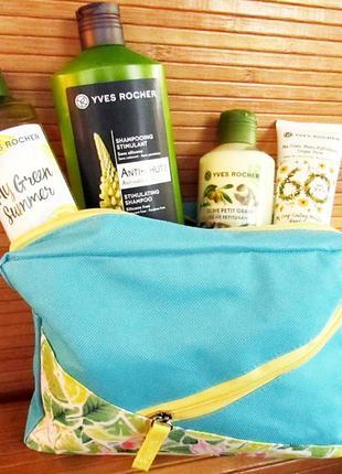 Подарочный набор косметики green summer ив роше yves rocher