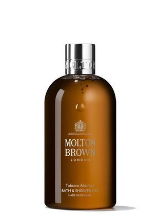 Molton brown tobacco absolute bath & shower gel  гель для душа...