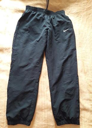 Спортивные штаны фирменные чёрные nike