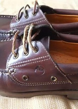 Кожаные туфли фирмы lumberjack
