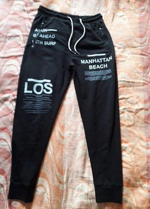 Спортивные чёрные штаны