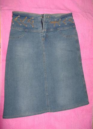 Юбка джинсовая марки woodsstar
