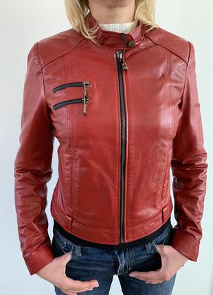 Косуха кожаная , кожаная куртка, женская кожаная куртка