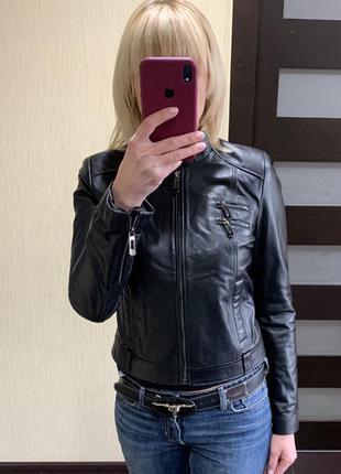 Кожаная куртка, кожаная косуха, женская кожаная куртка