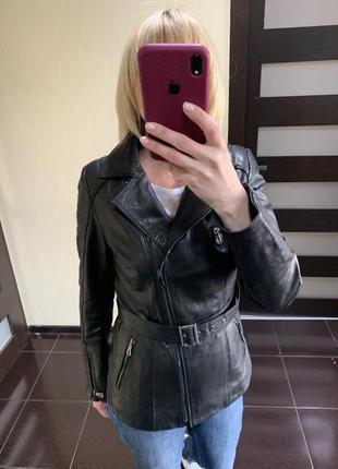 Кожаная куртка , кожаная косуха ,  кожаные женские куртки