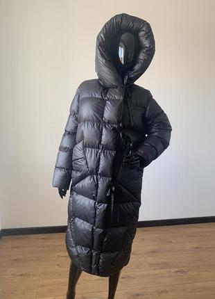 Зимний пуховик, женский пуховик, зимнее пальто, пуховик длинный