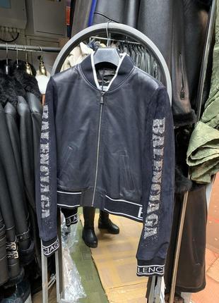 Кожаная женская косуха, женская кожаная куртка, куртка бомпер ...