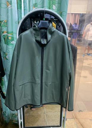 Кожаная женская куртка, женская куртка батал, кожаная женская ...