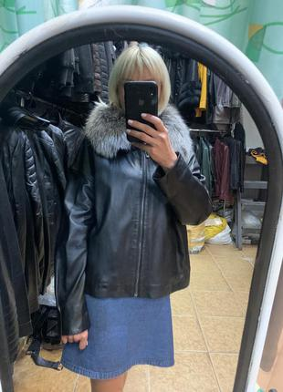 Кожаная женская куртка, женская кожаная куртка, кожаная женска...