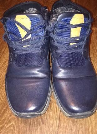 Акция!!!!мужские ботинки зимние