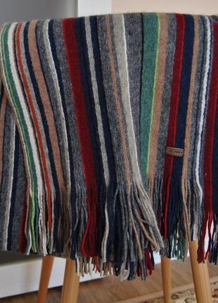 Шерстяной шарф fat face / шерстяний шарф