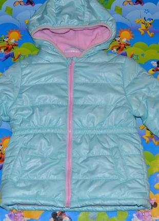 Куртка демисезонная ergee на девочку рост 86-92 см