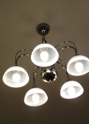 Подключение люстр, бра, светильников LED подсветки Буча Ирпень...