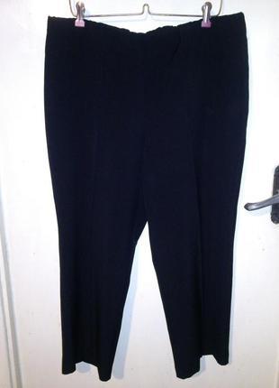 Стрейч,укороченные брюки-капри на резинке-7/8,с стрелками,боль...