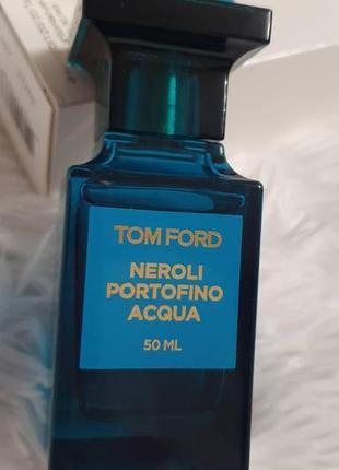 Tom ford neroli portofino acqua eau de toilette 50ml