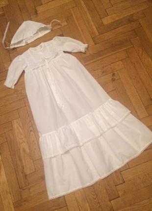 Рубашка для крещения,платье,набор,германия