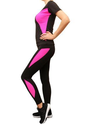 Качественный спортивный комплект женский для бега,йоги,фитнеса