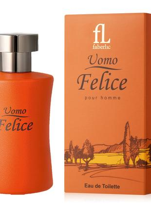 Туалетная вода мужская Uomo Felice Умо Феличи Фаберлик 3210